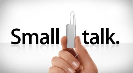 roz ipod-shuffle-small-talk