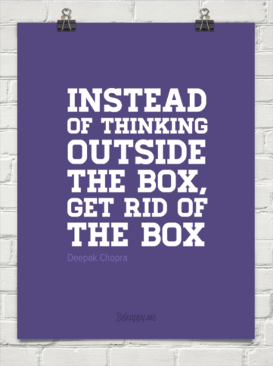 Outside the box Intrapreneurship