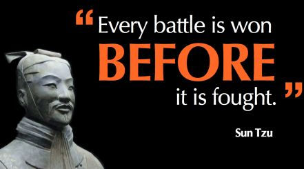 Sun Tzu battle won image