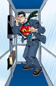 superman phone booth