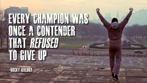 Rocky Champion Quote